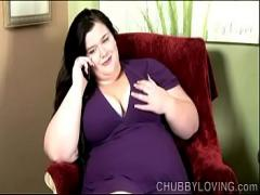 Sexy seductive video category big_tits (605 sec). Chubby big tits brunette loves to to talk dirty during phone sex.
