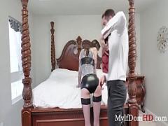 Nice sensual video category facial (471 sec). MILF Muff BDSM Day- Rocky Emerson.
