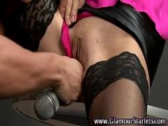 Genial amorous video category stockings (338 sec). Stockings european clothed blonde.