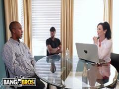 Super video link category anal (709 sec). BANGBROS - Cougar Real Estate Agent Veronica Avluv Take 2 Big Black Cocks.