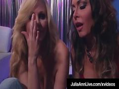 Embed x videos category big_tits (600 sec). Cock Sucking Cougars Julia Ann amp_ Jessica Jaymes Milk A Dick!.