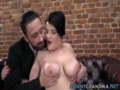 Watch sensual video category mature (375 sec). Busty gilf mouth spunked.