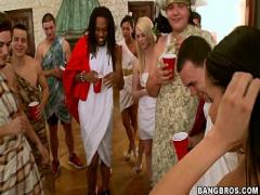 18+ youtube video category orgy (173 sec). BANGBROS - Toga Party BangBros Style.