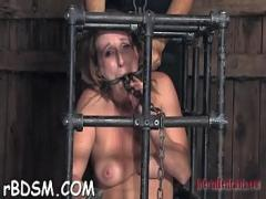 Sex video category blowjob (336 sec). Cutie receives hardcore clamping for her biggest racks.
