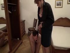 Sexy movie category gay (336 sec). Bossy grandma and her two young home slaves.